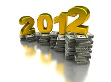 Year of the growing Royalty Free Stock Photo