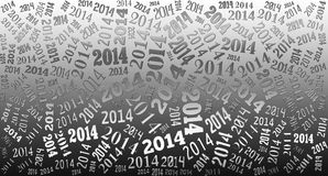 2014 Year holiday background. 2014 Year word cloud holiday background Royalty Free Stock Images