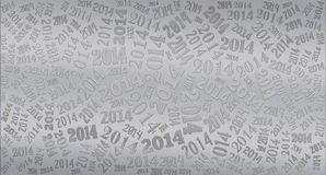 2014 Year holiday background. 2014 Year word cloud holiday background Stock Image