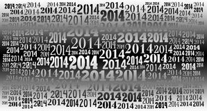 2014 Year holiday background. 2014 Year word cloud holiday background Stock Images