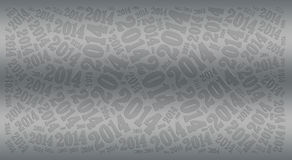2014 Year holiday background. 2014 Year word cloud holiday background Stock Photos