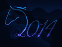 Year of the horse Stock Image