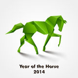 Year of the Horse design Royalty Free Stock Image