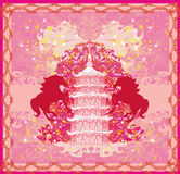 Year of Horse graphic design Royalty Free Stock Images