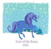 Year of the horse Royalty Free Stock Photo