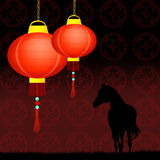 Year of the horse Royalty Free Stock Image