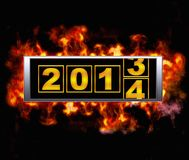 2014 year. Stock Images