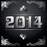 2014 Year illustration Stock Image