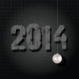 2014 Year illustration. 2014 Year ornamental and stylish vector illustration Stock Illustration