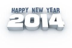 Year 2014. An image of Happy New Year 2014 Stock Image