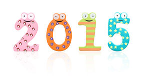 2015 year Stock Images