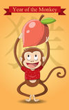 Year of the Monkey / Chinese New Year 2016 Royalty Free Stock Photos