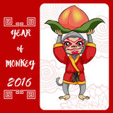 Year of monkey royalty free stock photography