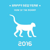 Year of the Monkey3 Royalty Free Stock Images