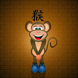Year of the monkey Stock Photography