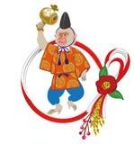 Year Of The Monkey ornament, anthropomorphic Monkey Stock Image