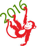 Year of Monkey Royalty Free Stock Photos