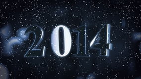 Year 2014 stock video footage