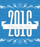 2016 year new year vector. Card vector illustration