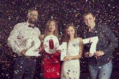 Year& novo x27; s Eve Party Imagem de Stock Royalty Free
