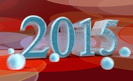 2015 year number Stock Images