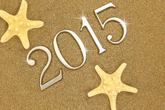 Year 2015 numbers Stock Image