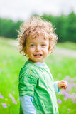 1 year old baby boy portrait Stock Image