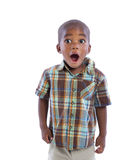 2 year old baby boy standing wear casual outfit Stock Images