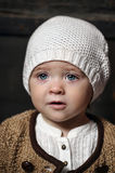Year-old blue-eyed little girl Royalty Free Stock Photography