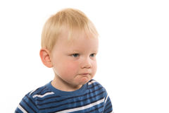 2-year-old boy Stock Images