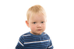 2-year-old boy Royalty Free Stock Images