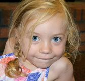 3 Year Old Girl Royalty Free Stock Image