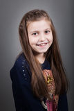 8 year old girl Royalty Free Stock Photo