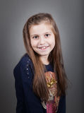 8 year old girl Royalty Free Stock Photos
