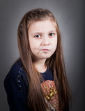 8 year old girl Stock Images