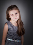 8 year old girl Stock Image