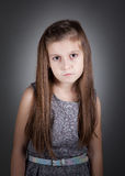 8 year old girl Stock Photography