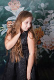 10 year old girl portrait Royalty Free Stock Photography