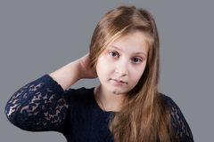 10 year old girl Royalty Free Stock Photography