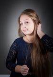 10 year old girl Stock Photo