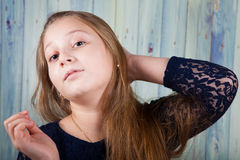 10 year old girl Stock Image
