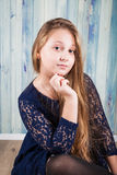 10 year old girl Stock Photography