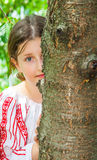 10 year old girl Stock Images