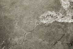 Old Eroded Concrete Floor Stock Photos
