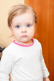 Year-old little child closeup portrait Royalty Free Stock Photography