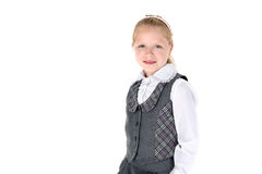 8 year old school girl Stock Photography