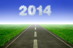 2014 year Stock Photography