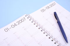 Year planner Royalty Free Stock Images