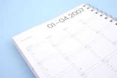 Year planner Royalty Free Stock Photos