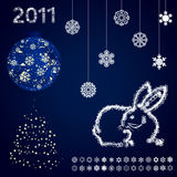 Year of a rabbit4 Royalty Free Stock Photo